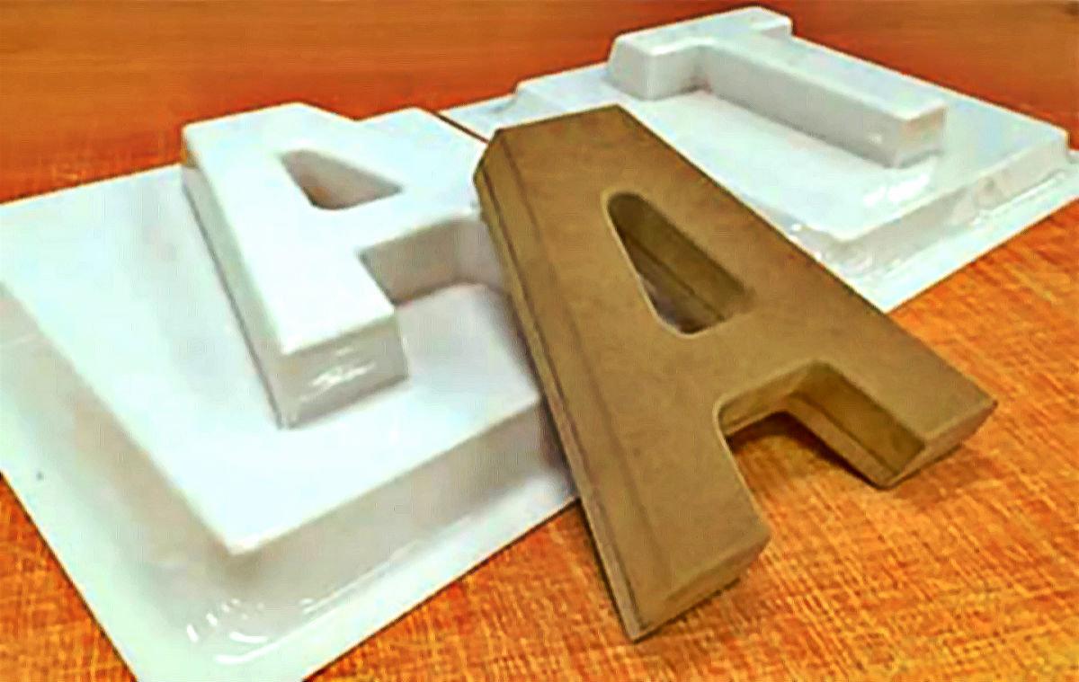Объёмные буквы за считанные минуты. Новые технологии типографии «ПолиграфРесурсы», фото-1