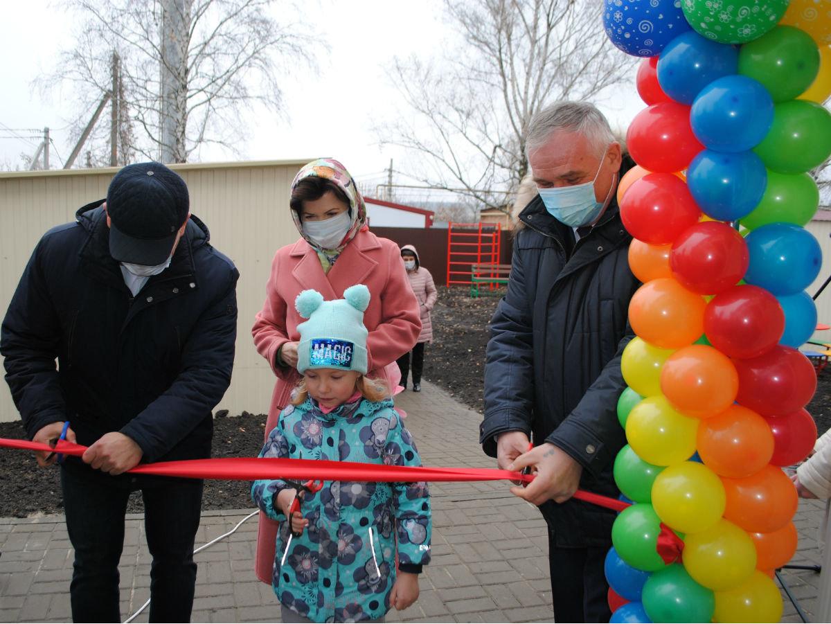 открытие после капремонта детского сада в Бирюче, Максим Алтухов