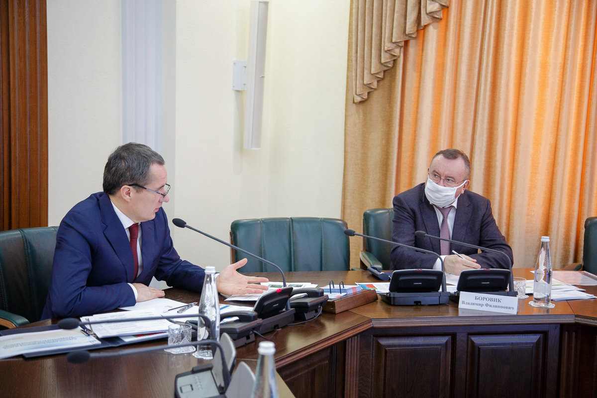 Оперативное совещание, пресс-служба губернатора и правительства БО