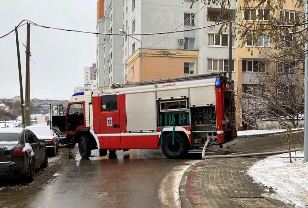 Фото с места происшествия в Белгороде