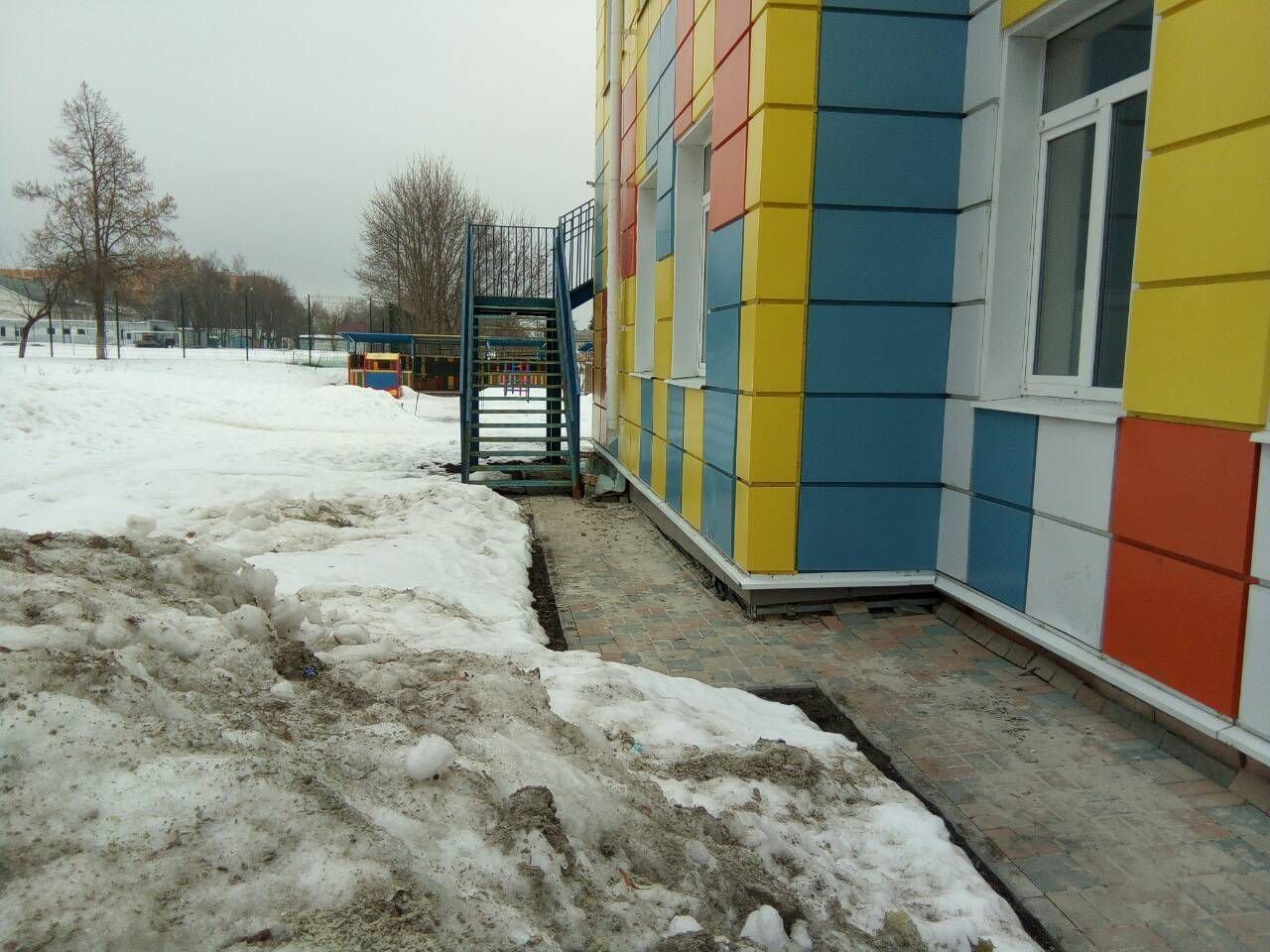 Проблемный детский сад в посёлке Майский