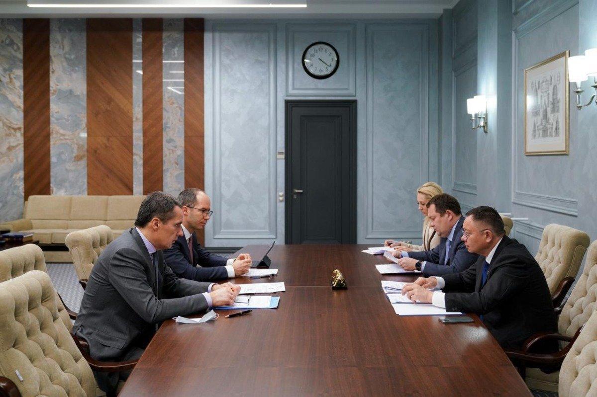 Рабочее совещание с министром строительства и ЖКХ