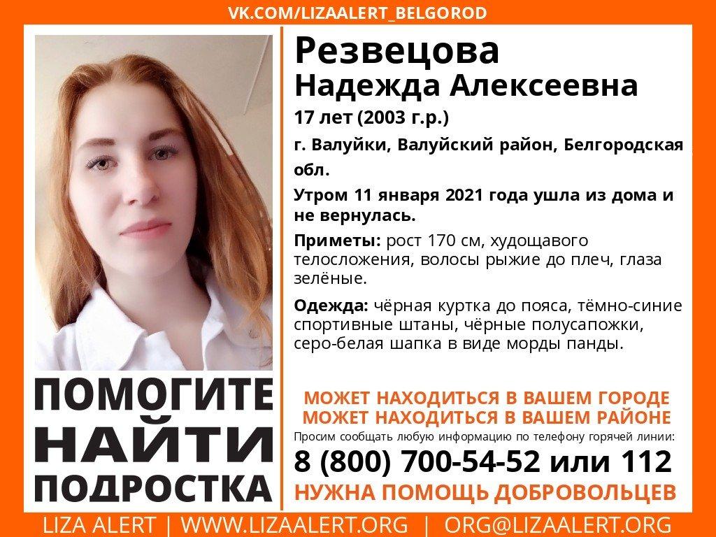 Ещё одна несовершеннолетняя пропала в Белгородской области, фото-1
