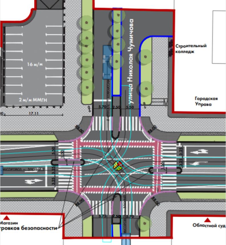 Новая транспортная реформа затронет центр Белгорода, фото-5