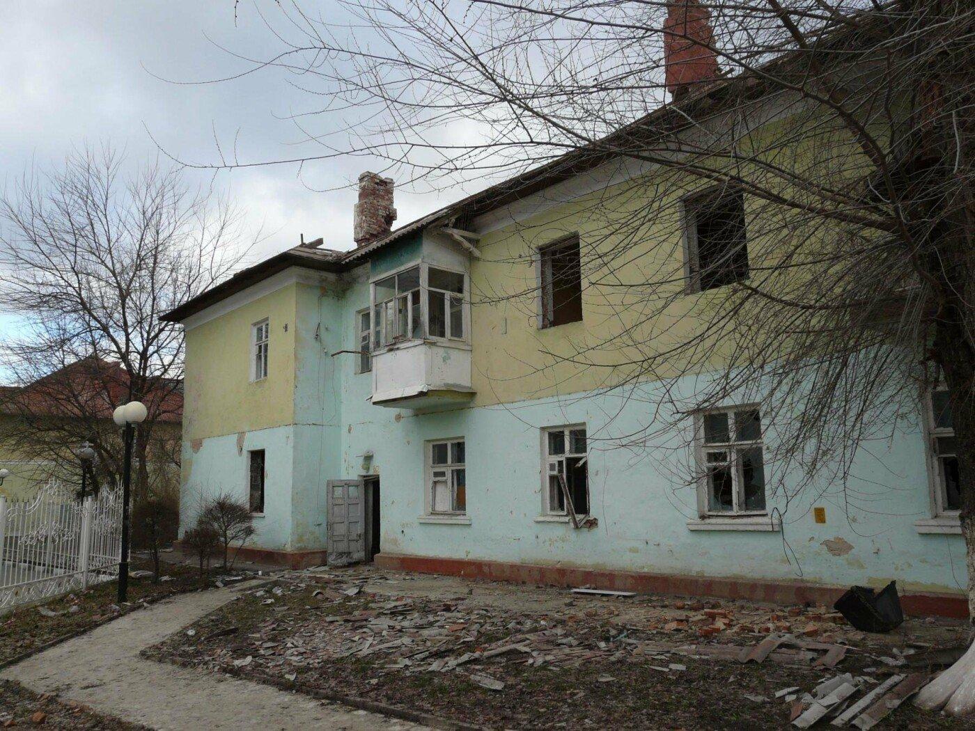 Один из снесённых ранее домов