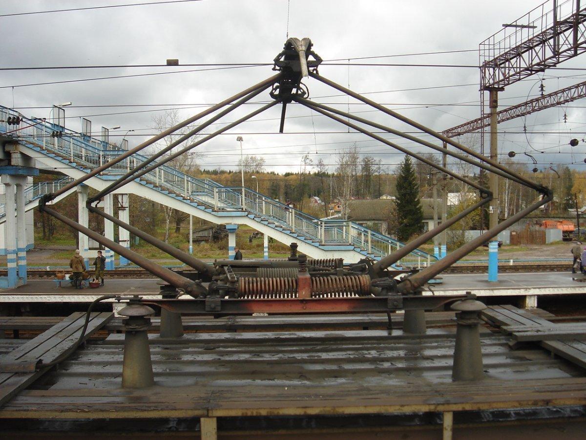 Токоприёмник, Фото: train-photo.ru