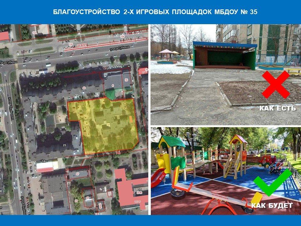 Какие проекты благоустройства предлагают мэрии Белгорода, фото-1