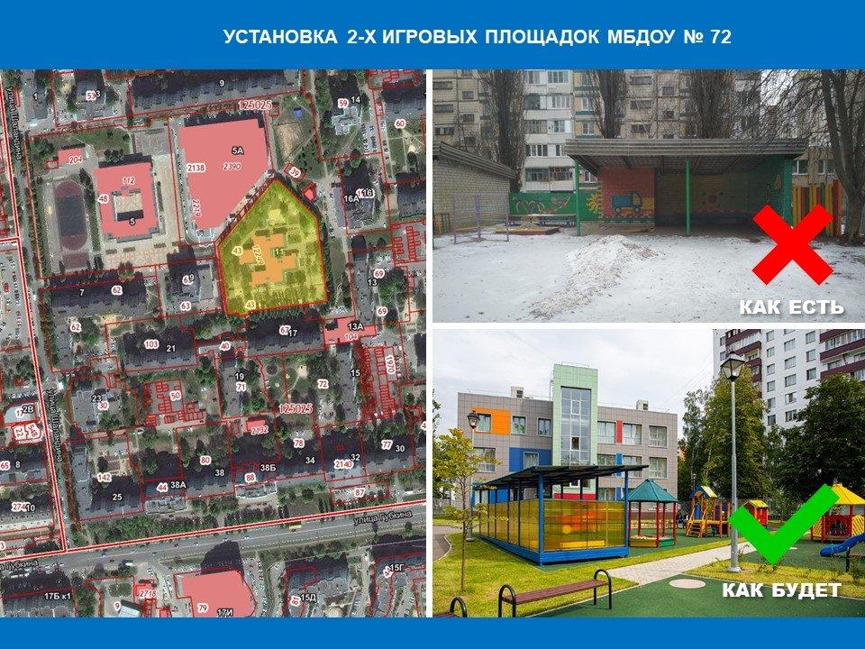 Какие проекты благоустройства предлагают мэрии Белгорода, фото-22