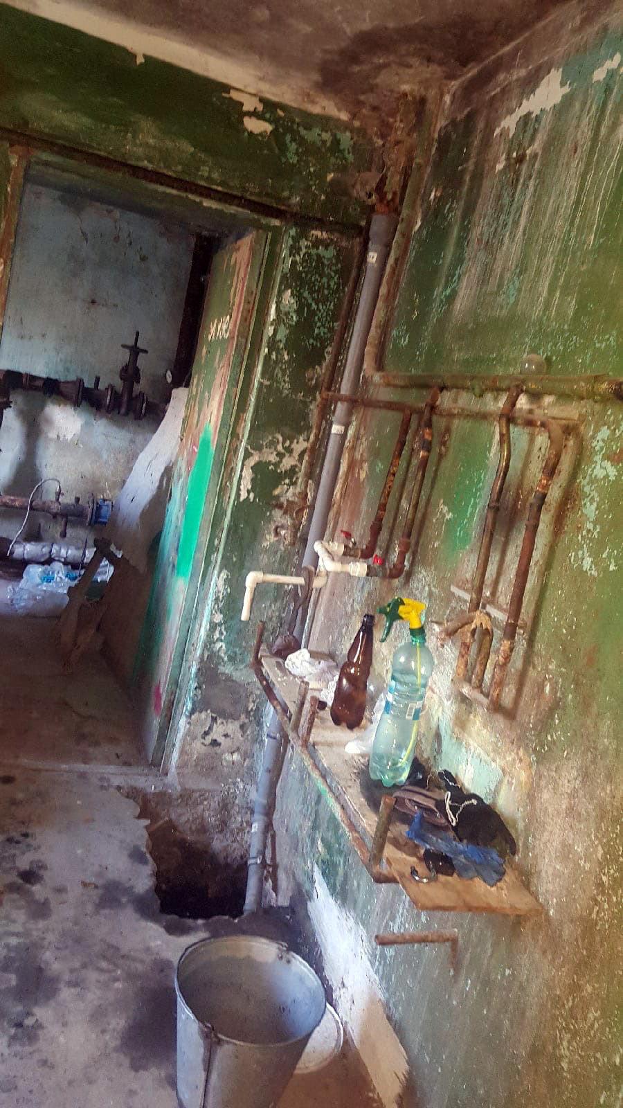 В доме № 12б на улице Фрунце в Губкине Белгородской области, Фото: паблик во ВКонтакте «Губкин говорит»