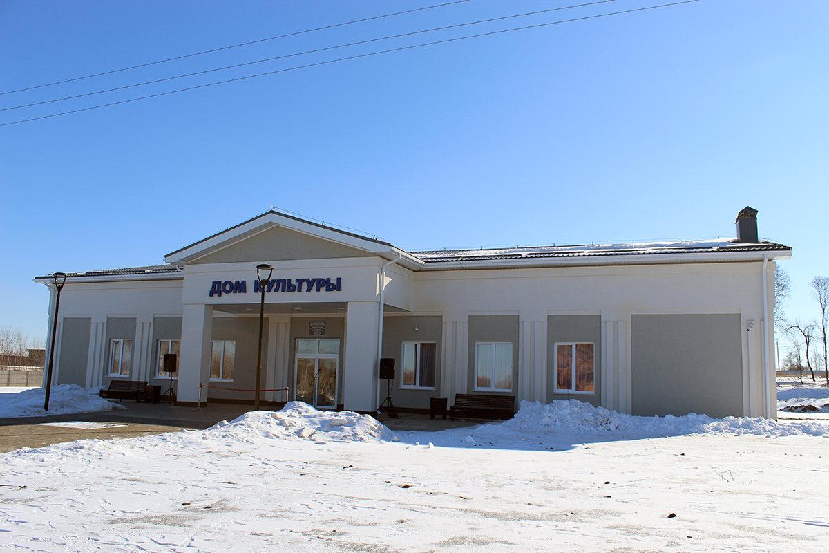В старооскольском селе открылся Центр культурного развития, построенный на средства депутата Андрея Скоча, фото-1