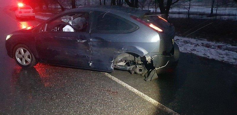 Авария в Красногвардейском районе