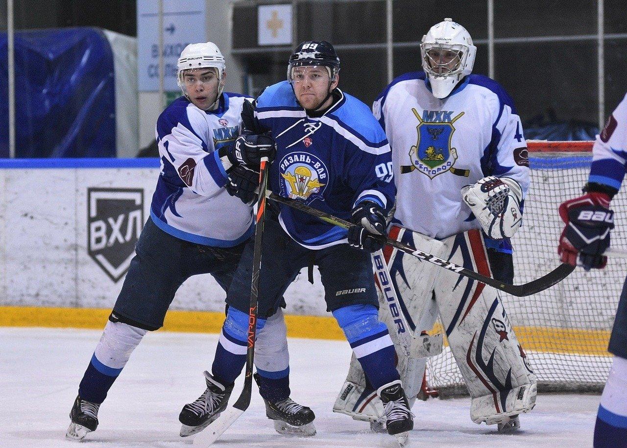 Игра в Рязани, Фото с сайта МХК «Рязань-ВДВ»