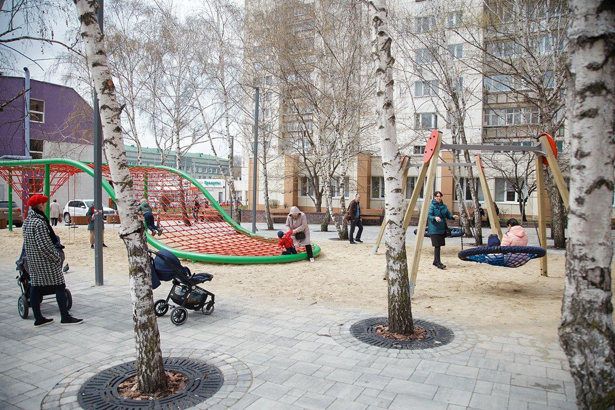 «Пятёрочка» благоустроила скверы Белгорода, фото-5