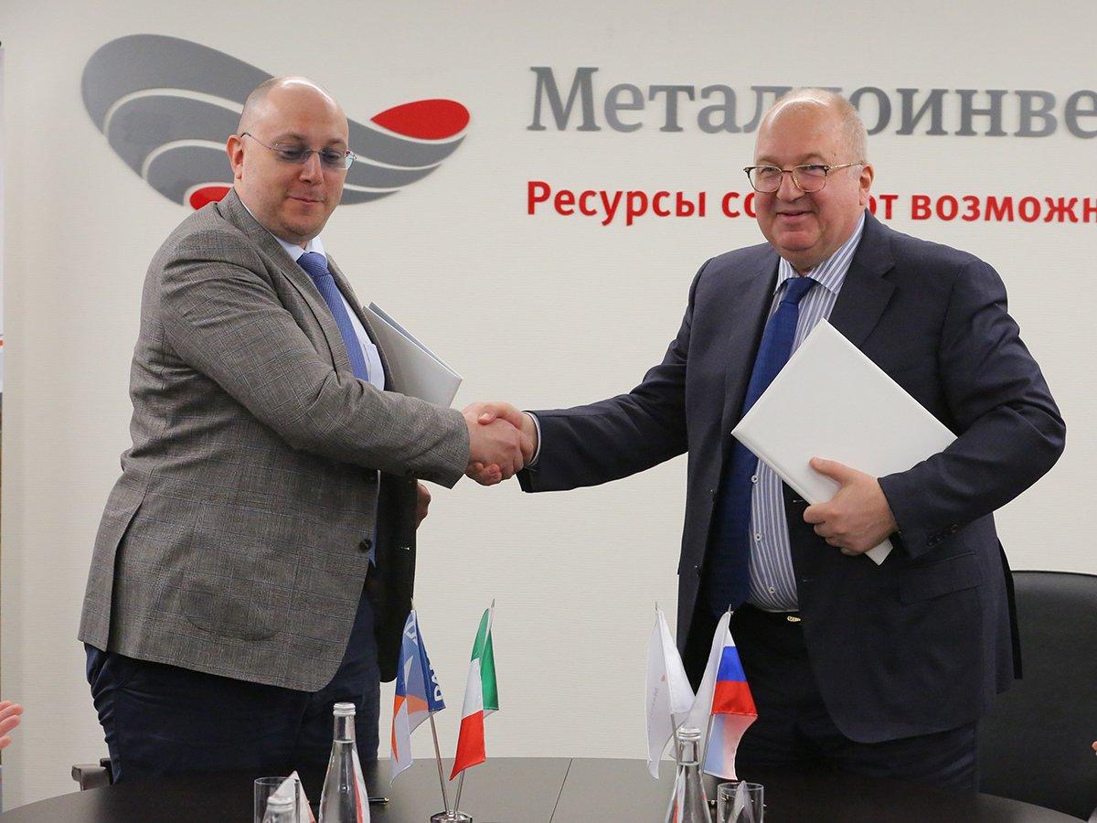 Заключение контракта, фото: пресс-служба ОЭМК