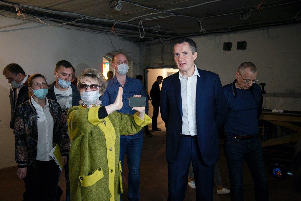ремонт музея-диорамы, фото: пресс-служба губернатора и правительства БО