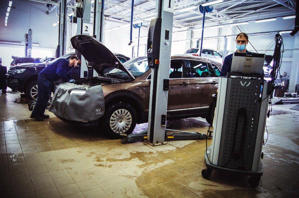 Официальный сервисный центр Volkswagen «Автоцентр Триумф»: качественное обслуживание на гарантии и после, фото-4