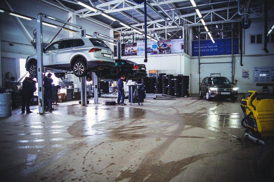 Официальный сервисный центр Volkswagen «Автоцентр Триумф»: качественное обслуживание на гарантии и после, фото-6