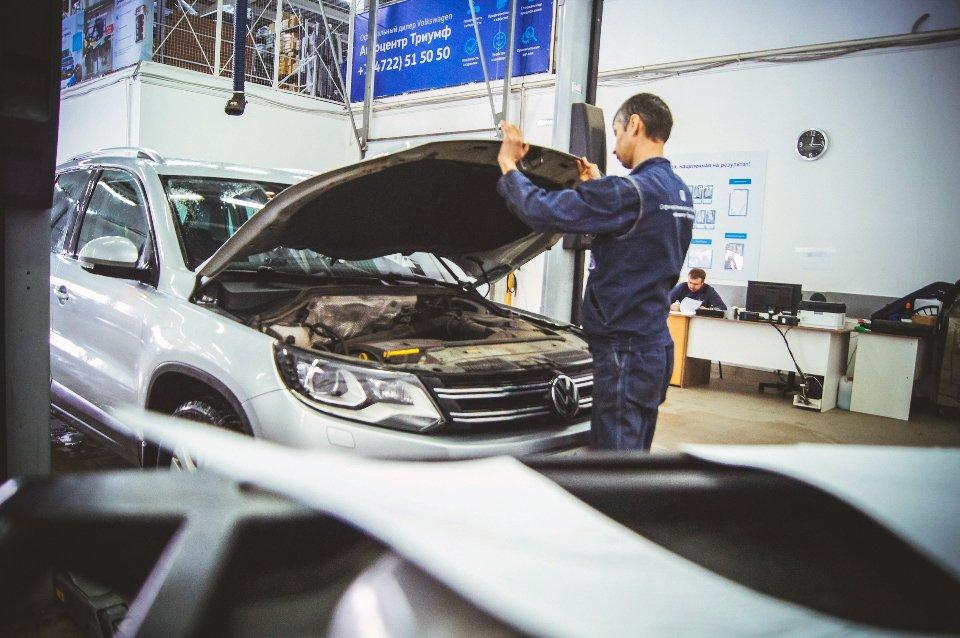 Официальный сервисный центр Volkswagen «Автоцентр Триумф»: качественное обслуживание на гарантии и после, фото-7