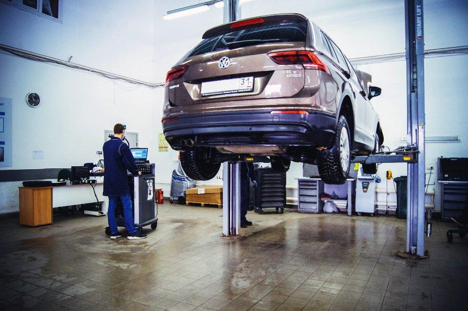 Официальный сервисный центр Volkswagen «Автоцентр Триумф»: качественное обслуживание на гарантии и после, фото-3