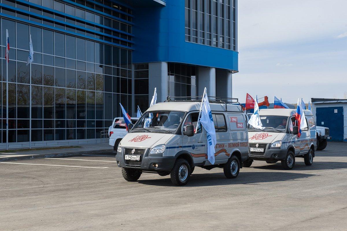 Белгородские энергетики проехали маршрутами Победы, фото-4