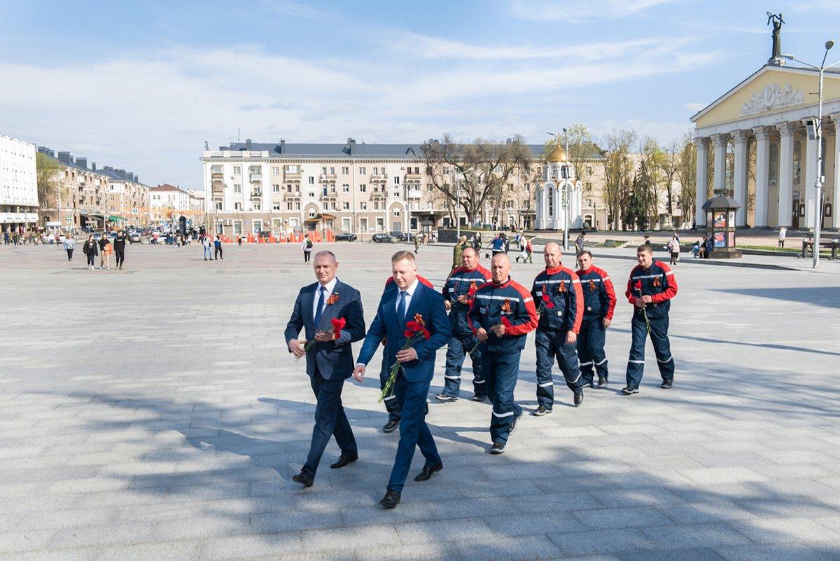 Белгородские энергетики проехали маршрутами Победы, фото-5