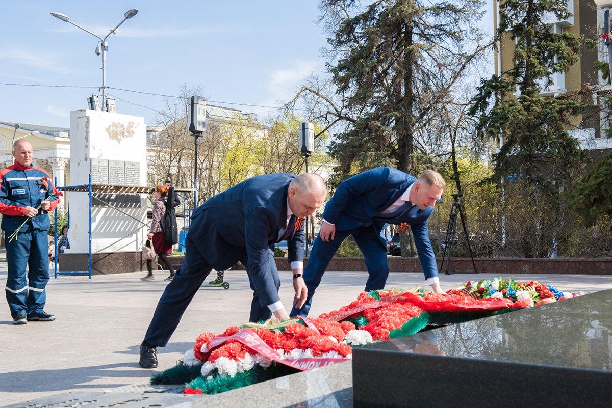 Белгородские энергетики проехали маршрутами Победы, фото-6