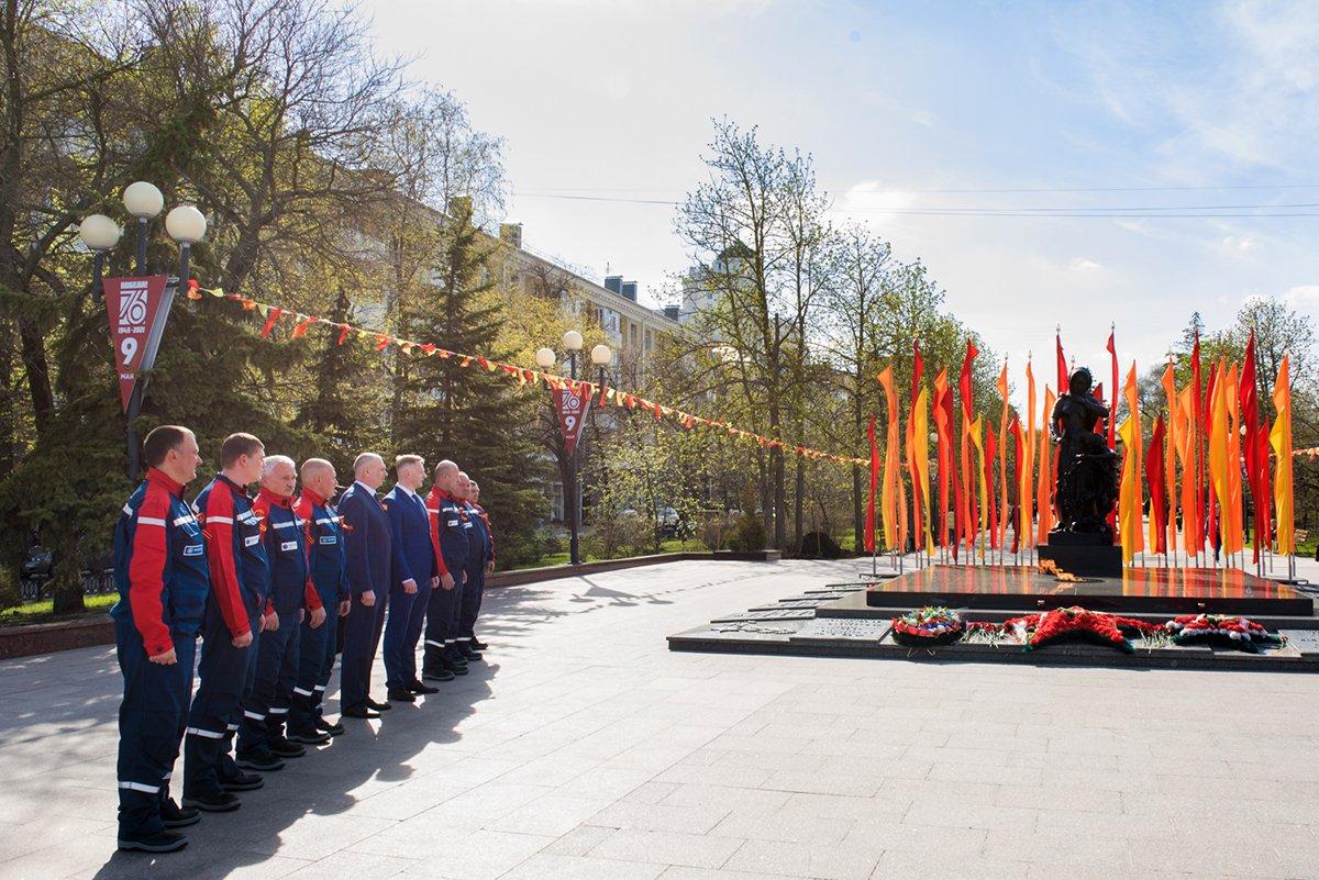 Белгородские энергетики проехали маршрутами Победы, фото-7