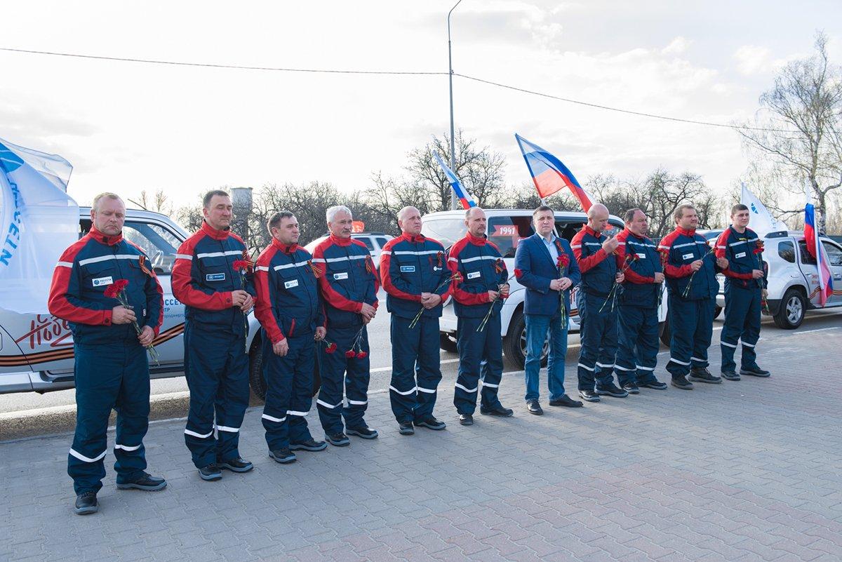 Белгородские энергетики проехали маршрутами Победы, фото-8