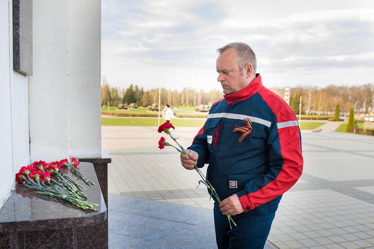Белгородские энергетики проехали маршрутами Победы, фото-11