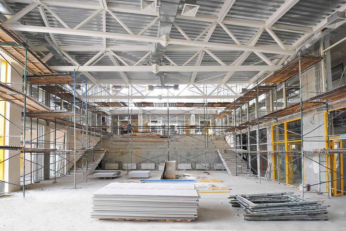 Корпорация ЖБК-1 завершает строительство школы на 225 мест в Белгородской области, фото-11