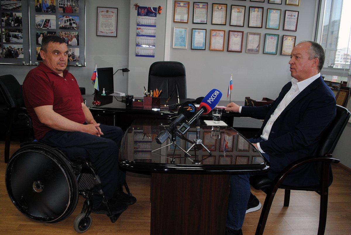 Приём Андрея Скоча, Фото: Димитр Николов